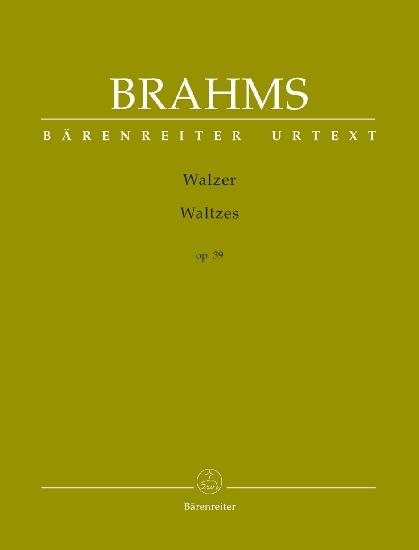 Brahms, Johannes : Walzer op. 39