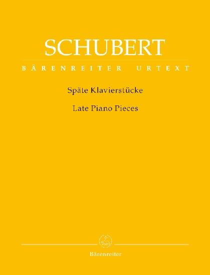 Schubert, Franz : Late Piano Pieces