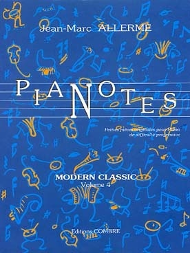 Allerme, Jean - Marc : Pianotes Modern Classic Volume 4