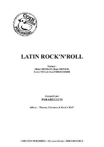 Parabellum : Latin Rock N Roll