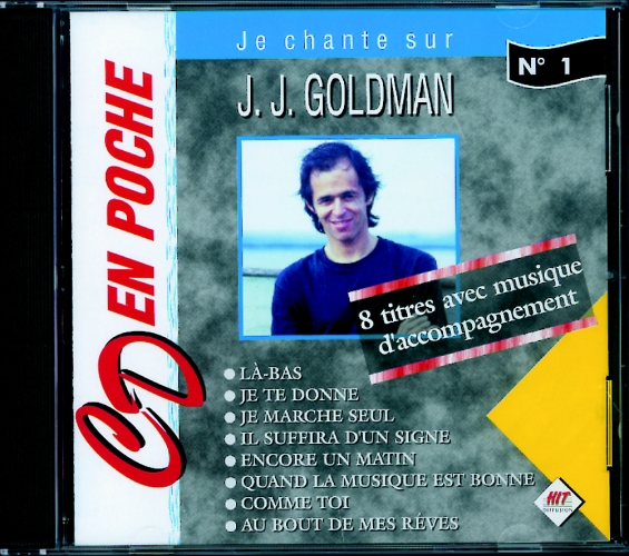 Goldman, Jean Jacques : CD en poche n°1 J-J Goldman