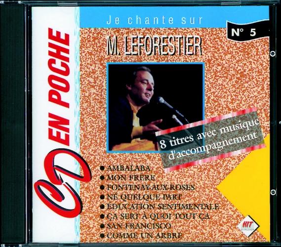 Le Forestier, Maxime : CD en poche n°5 Maxime Le Forestier