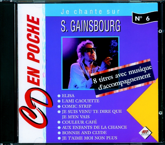 Gainsbourg, Serge : CD en poche n°6 Serge Gainsbourg