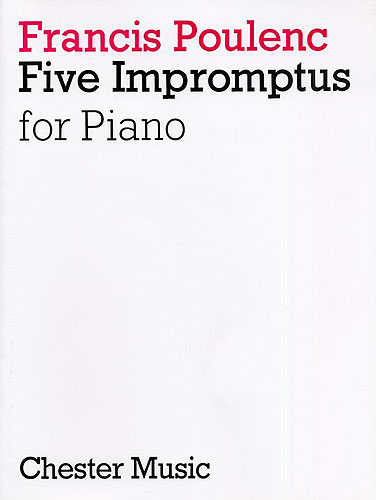 Poulenc, Francis : Five Impromptus For Piano