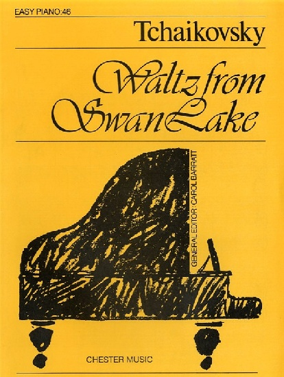 FORMAT TCHAIKOVSKY WALTZ FROM SWAN LAKE EASY PIANO