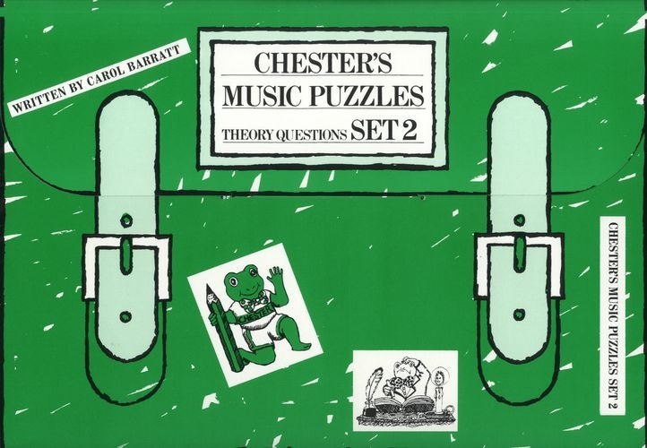 Barratt, Carol : Chester's Music Puzzles - Set 2