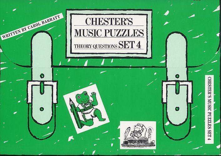 Barratt, Carol : Chester's Music Puzzles - Set 4