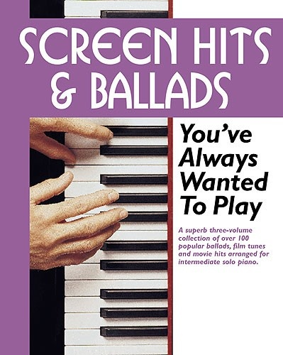 COFFRET SCREEN HITS and BALLADS YOU'VE ALWAYS WANTED TO PLAY