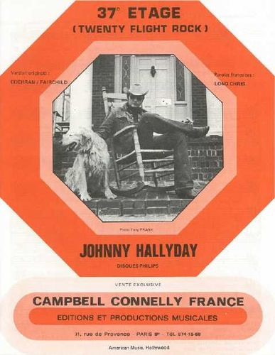 Hallyday, Johnny : 37E Étage (Twenty Flight Rock)