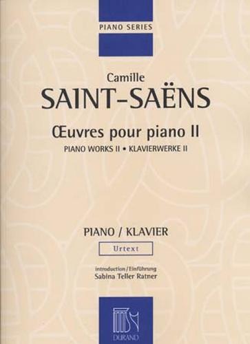 Saint Saens, Camille : ?uvres pour piano Volume 2