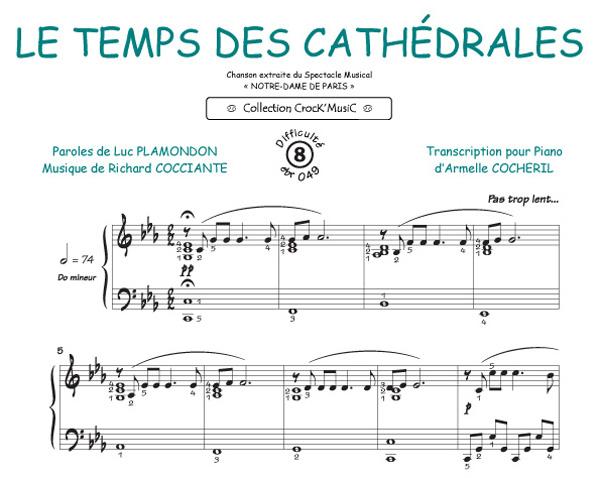 Le temps des cathédrales (Cocciante, Richard / Plamondon, Luc)