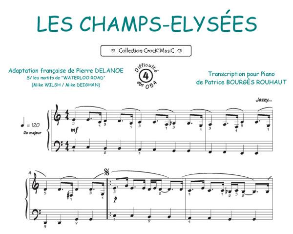 Champs-Elysées (Collection CrocK'MusiC)