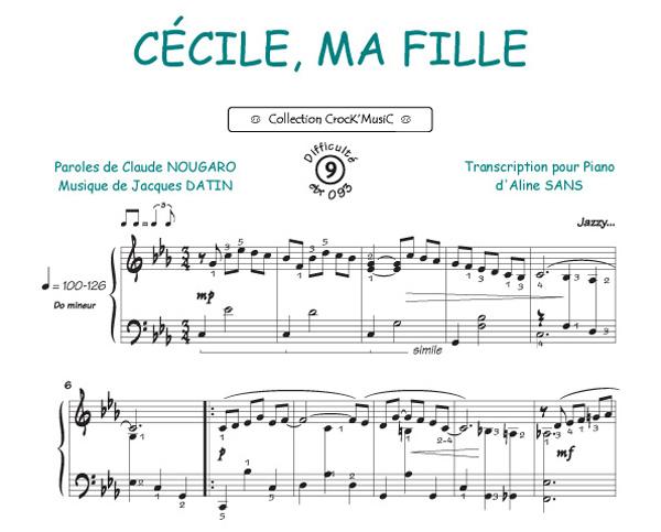 Cécile ma fille (Nougaro, Claude)