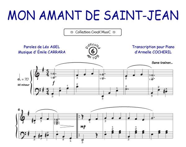 Mon Amant de Saint Jean (Agel, Leo / Carrara, Emile)