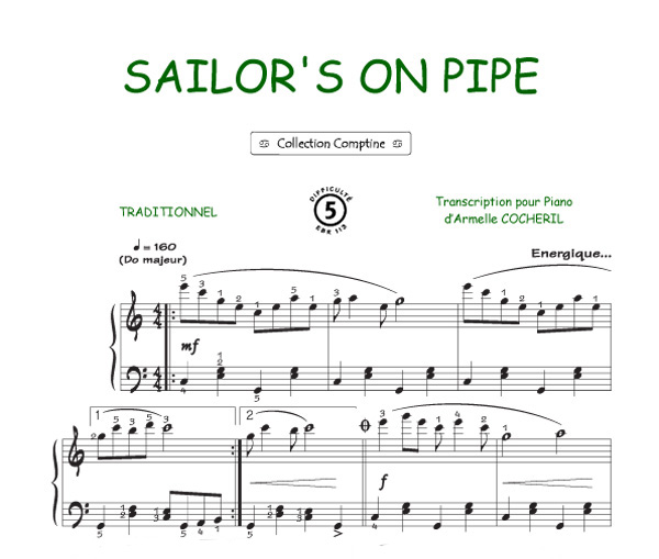 Sailor's on pipe (Comptine)