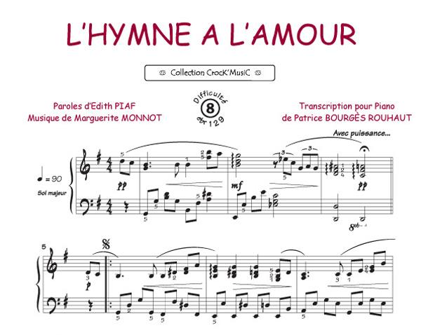 L'hymne à l'amour (Piaf, Edith / Monnot, Marguerite)
