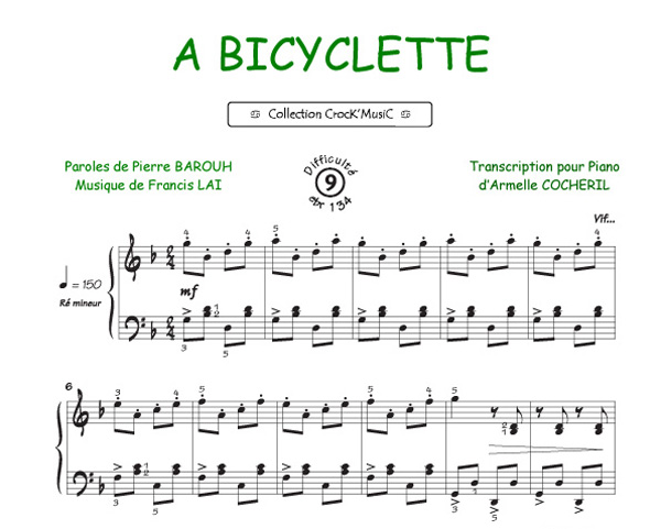 A Bicyclette (Collection CrocK'MusiC)