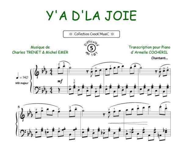 Y'a d'la Joie (Collection CrocK'MusiC)