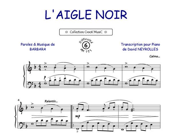 Barbara: L'aigle Noir (Collection CrocK'MusiC)