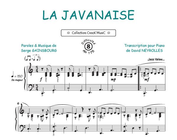 Serge Gainsbourg: La Javanaise (Collection CrocK'MusiC)