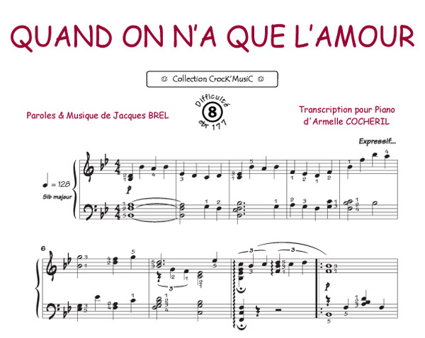 Brel, Jacques : Quand on n a que l amour