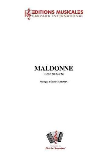 Emile Carrara : Maldonne (Valse Musette)