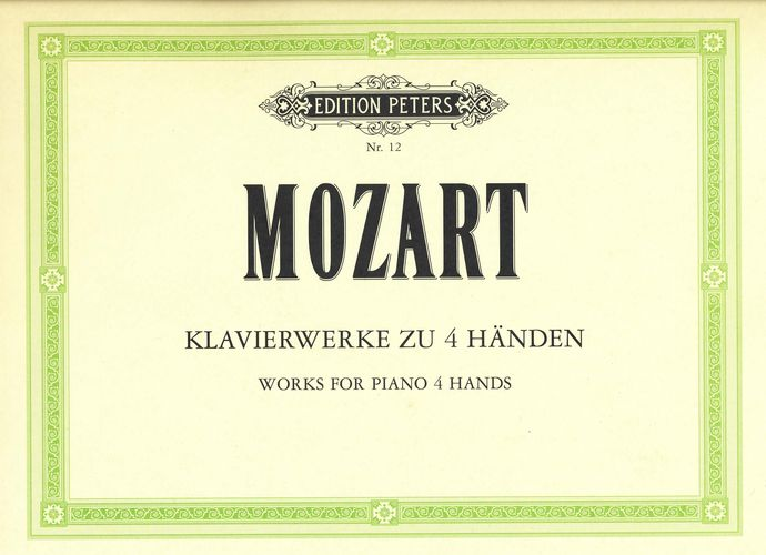 Mozart, Wolfgang Amadeus : Works For Piano 4 Hands