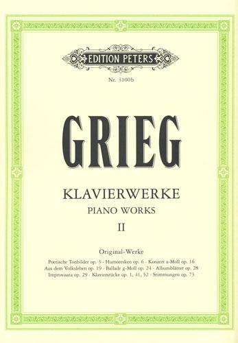 Grieg, Edvard : Piano Works II