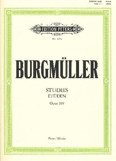 Burgmuller, Friedrich : 18 Characteristic Studies Op.109