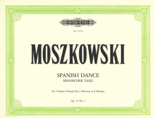 Moszkowski, Moritz : Spanish Dance Op.12 No.1