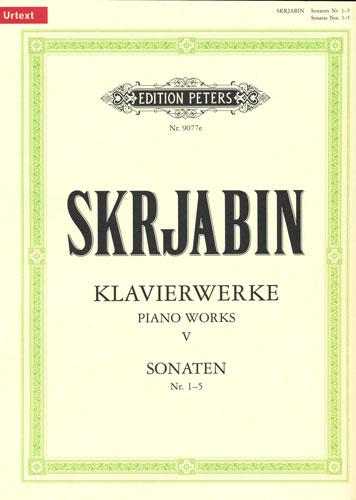 Skrjabin, Alexander : Piano Works V