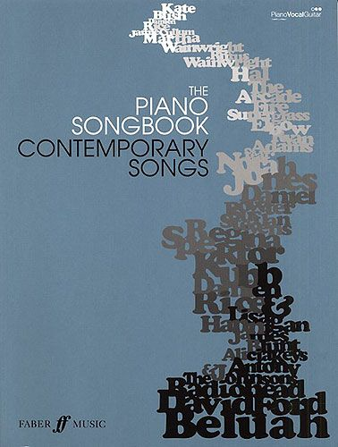 Piano Songbook Contemporary Songs