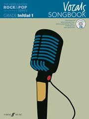 The Faber Graded Rock and Pop Series Vocal Songbook
