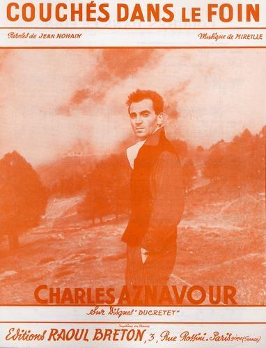 Charles Aznavour : Couches dans le foin