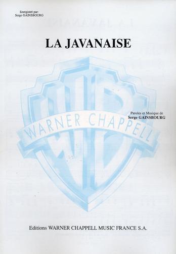 Javanaise (la) (Gainsbourg, Serge)