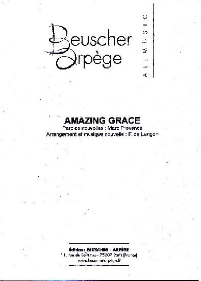 Amazing grace (avec partie mib et sib)