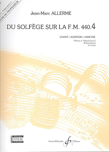 Du Solfege sur la F.M. 440.4 - Chant / Audition / Analyse - Professeur