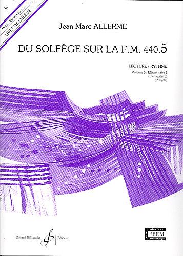 Du Solfege sur la F.M. 440.5 - Lecture / Rythme - Elève