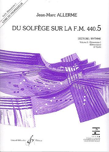 Du Solfege sur la F.M. 440.5 - Lecture / Rythme - Professeur
