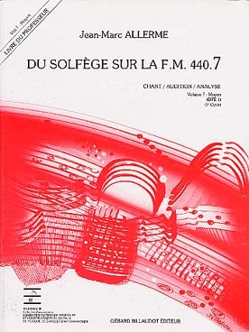 Du Solfege sur la F.M. 440.7 - Chant / Audition / Analyse - Professeur
