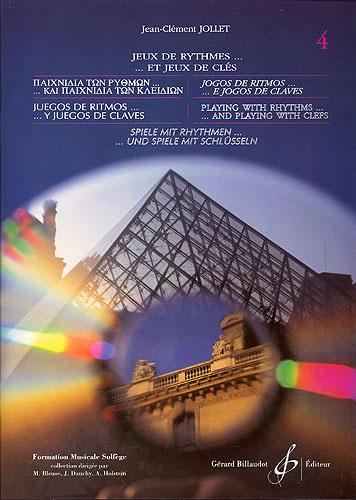 Jollet, Jean-Clément : Jeux de rythmes et jeux de clés - 6 langues - volume 4