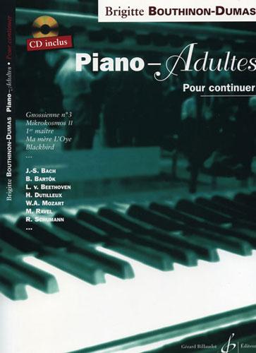Bouthinon-Dumas, Brigitte : Piano-Adultes