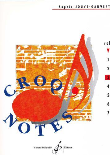 Jouve-Ganvert, Sophie : Croq'notes - cahier 3 - 3e année