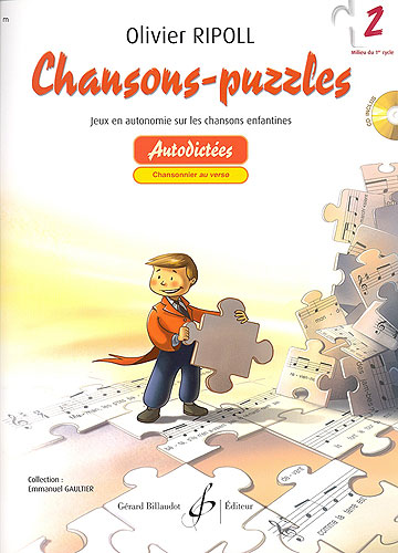 Ripoll, Olivier : Chansons puzzles - Volume 2