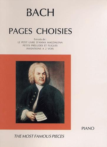 Bach, Johann Sebastian : Pages Choisies
