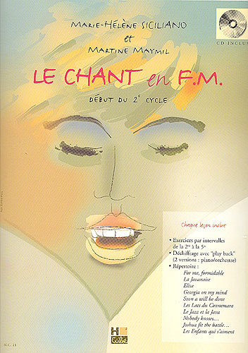 Siciliano, Marie-Hélène / Maymil, Martine : Chant en F.M.