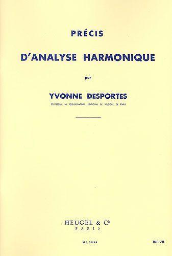 Desportes, Yvonne : Précis d'Analyse Harmonique