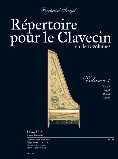 Répertoire pour le Clavecin - Volume 1