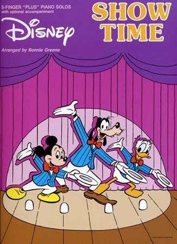 Disney Show Time 5 Finger Plus Piano Solos