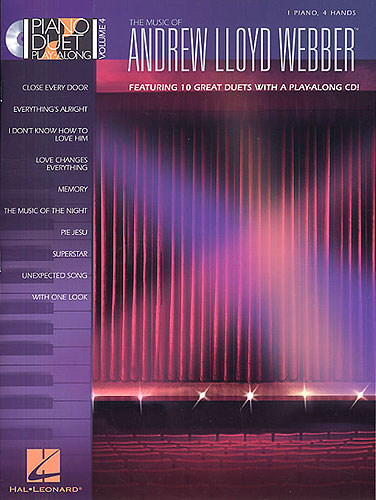 Webber, Andrew Lloyd : Piano Duet Play-Along Volume 4: The Music Of Andrew Lloyd Webber